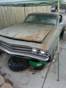 Looking for 1968 or 1969 Chevelle Malibu project