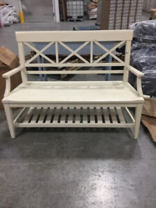 Downsizing Sale-Wood Hall Bench