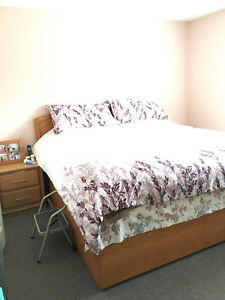 MOVING SALE- Complete Bedroom set w/mattress