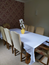 Grassington dining table and chairs
