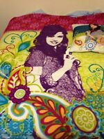 Waverly blanket and pillow and snuggy