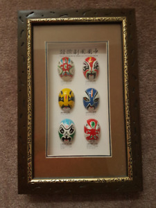 Framed Chinese Masks