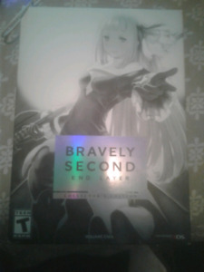 Bravely Second End Layer Collectors Edition still sealed
