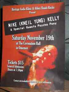 Mike (Kneil Yung) Kelly and Psycho Pony at the Coronation Hall Peterborough Peterborough Area image 1