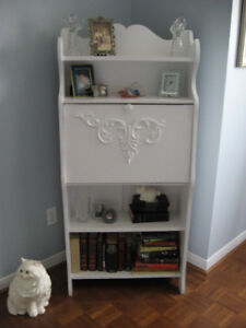Lovely white accent furniture