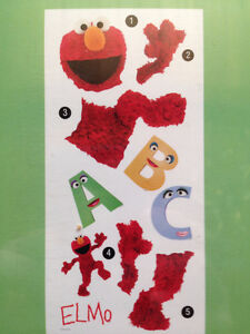 Elmo Giant Wall Decals