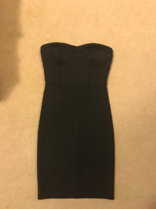 Guess Black Mini Party Dress