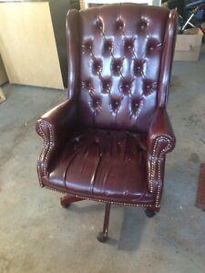 chaise bureau executives luxe