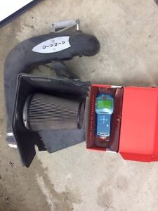 Cold air intake + programmation pour F150