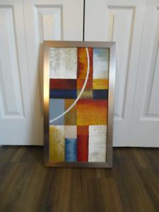 Cadre, tableau, toile contemporain