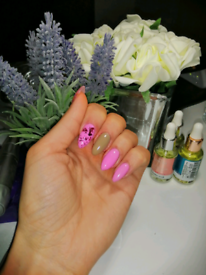 Gel nail extension and infills