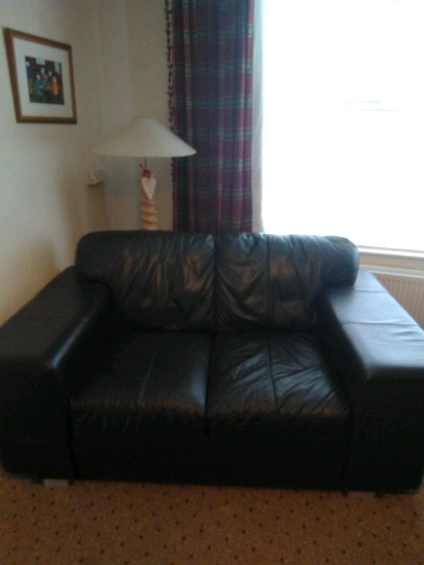 Awe Inspiring 2 Seater Leather Sofa Reduced 20 Pounds In Dromara County Down Gumtree Pdpeps Interior Chair Design Pdpepsorg