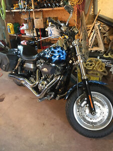2009 HARLEY FOR SALE fatbob fxdf
