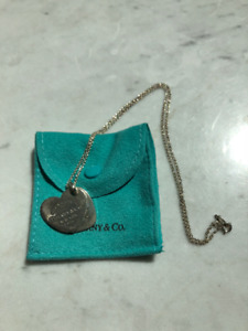 Tiffany & Co. Big Double Heart Necklace