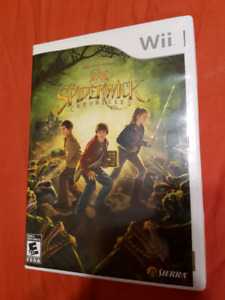 Wii THE SPIDERWICK CHRONICLES COMPLETE