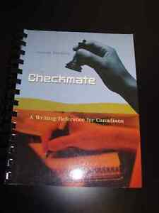 Checkmate - A Writing Reference for Canadians - NEW Peterborough Peterborough Area image 1