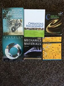 1st/2nd year Engineering Books *cheap