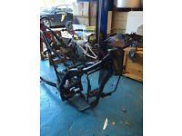 Yamaha wr125x frame hpi clear plus other spares.