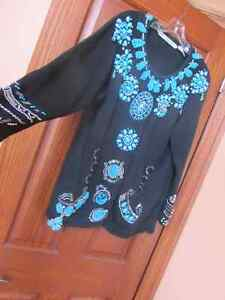 Jewelry that you wear-beaded sweater by Michael Simon Peterborough Peterborough Area image 1