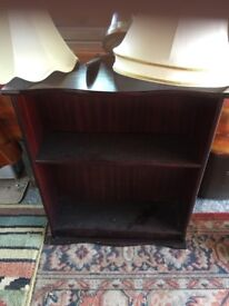 "Small bookcase 23"" wide 29"" high in good condition"