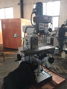 WTB Recherche, Bridgeport style milling machine