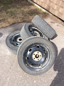 Michelin X-ice Winter Tires 1 season used!