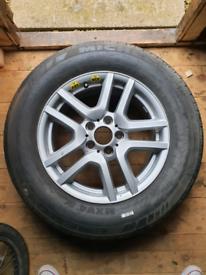 BMW X5 E53 Spare Wheel