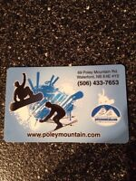 $100 Poley Mnt Gift Card