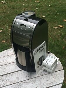 Cuisinart coffee maker with grinder  Kawartha Lakes Peterborough Area image 1