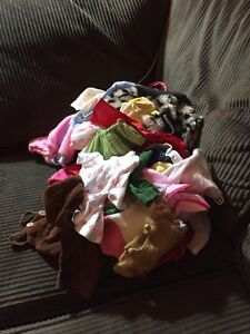 Lot of Vintage Doll Clothes!