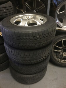 Mag with winter tire for mercedes ml 300 17 in