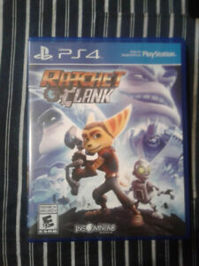 PS4 - RATCHET AND CLANK $10