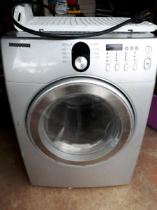 Samsung front load dryer with drying rack