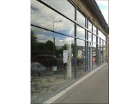 New Shop Fronts - Aluminium - All glass - Automatic doors - Roller shutters