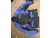 Motorbike jacket and trousers