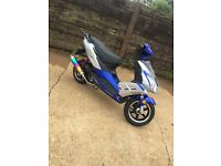 Pulse light speed 2 125cc 2014