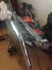 Chrome Bumpers for 1969-70 Ford Mustang Gatineau Ottawa / Gatineau Area image 2