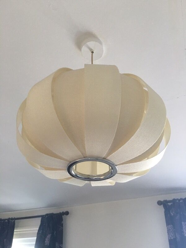 John lewis easy to fit sumet panels ceiling lamp shade