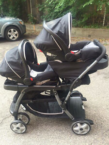 Double Stroller Stroller Carrier Amp Carseat Deals