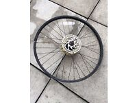Back mountain bike wheel