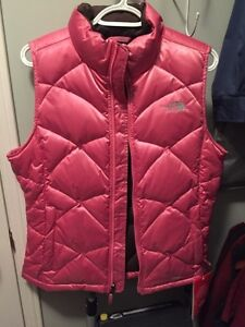 Brand New with tags The North Face Aconcagua Vest Pink