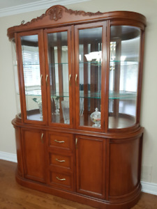 CHINA CABINET - Custom Maple