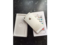 Apple iPhone 5s silver 16GB on (Vodafone)