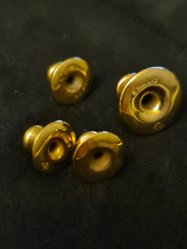 Antique 9ct gold shirt studs