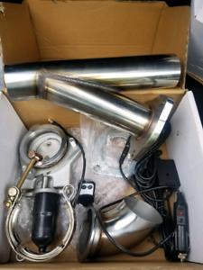 Motor Cut off exhaust muffler switch kit new !