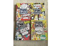 4 x Tom Gates books by L Pichen
