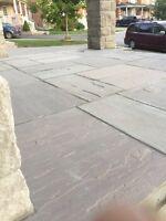 Niajcom construction interlock and flags stones