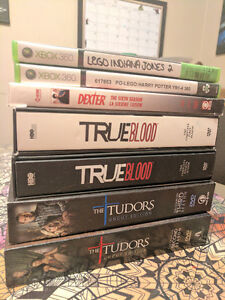 Assorted DVDs and Games