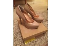 Gorgeous nude shoes by Schuh