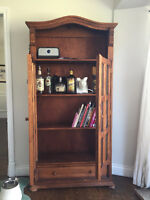 Cabinet handmade and personally imported from Mexico.